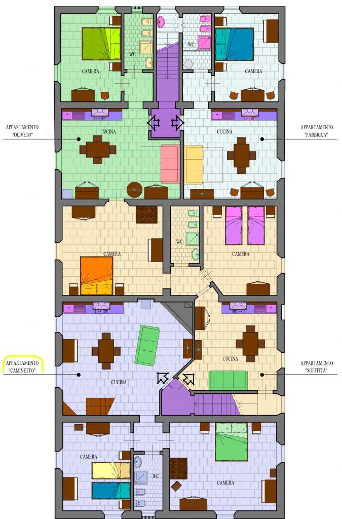 Mappa Caminetto